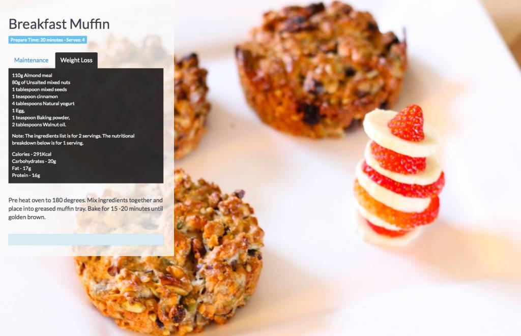 Breakfast-muffin