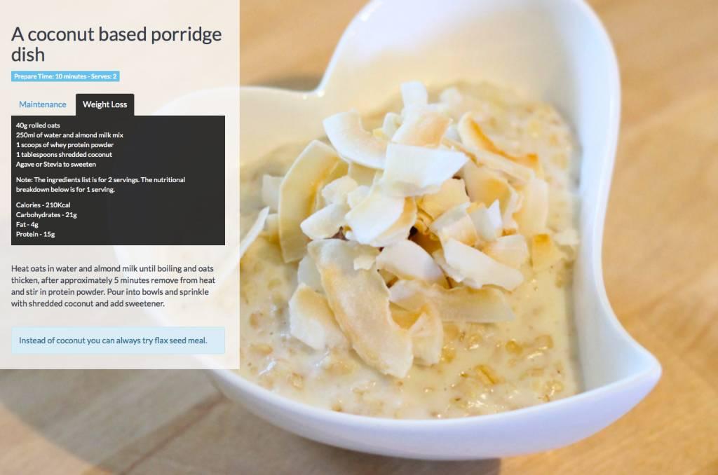 Coconut-porridge