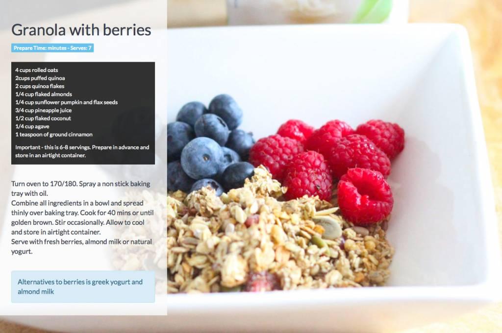 Granola-with-berries